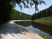 Nová cyklotrasa Hluboká - Purkarec