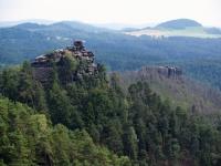 Českosaské Švýcarsko, kraj pískovcových skal