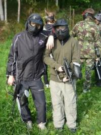 S 9. M na paintballu