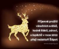 Veselé Vánoce a šťastný nový rok 2012