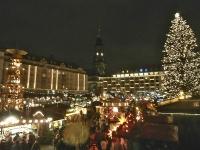 Drážďany v čase vánočním