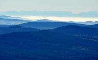Alpy z Boubína a Basumský hřeben