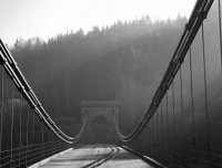 Stádlecký empýrový  řetězový most