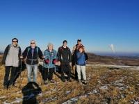 Silvestrovské rozjímání na vrcholu Pohořelce