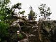 Pod CHKO Blanský les spadá hned několik hřebenů. Nejvyšším vrchem na hřebenu souběžném s hřebenem kleťským, je Kluk s nadmořskou výškou 735m.