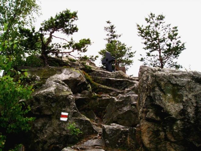 Pod CHKO Blanský les spadá hned několik hřebenů. Nejvyšším vrchem na hřebenu souběžném s hřebenem kleťským, je Kluk s nadmořskou výškou 735 m.