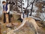 Muzejní expozice zahrnují přírodu a přírodní památky této části chráněného území, její nynější stav i záměry jejího rozvoje a též historický vývoj obce s kulturními i přírodními zajímavostmi až do současnosti.