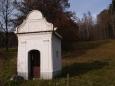 Kaple u samot Borovští Uhlíři pod Albertovem.
