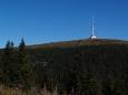 Vlastně až na poslední den si necháváme rozhlednu na Pradědu a Švýcárnu, horskou chatu na hřebenu k Červenohorskému sedlu.