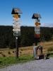 Od chaty vede celá řada turistických cest: Hlavní hřebenová trasa (červená značka) vede z Červenohorského sedla kolem Švýcárny na Praděd, k Ovčárně a dále až k chatě Alfrédce na jižním konci Hrubého Jeseníku nebo od Barborky do Karlovy Studánky. Modrá značka pak údolím Kamenáče přes Vysoký vodopád do Bělé. Žlutá značka vede přes Videlské sedlo kolem Orlíka a Kazatelen až ke známému penzionu Rejvíz. Opačným směrem pak zelená značka klesá do Koutů nad Desnou.