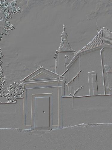 PIŠTÍN V roce 1261 se připomíná plebán Václav. Matriky od r. 1645. Kostel sv. Vavřince, původně románský, přestavěn goticky, obnoven po požáru r. 1752.