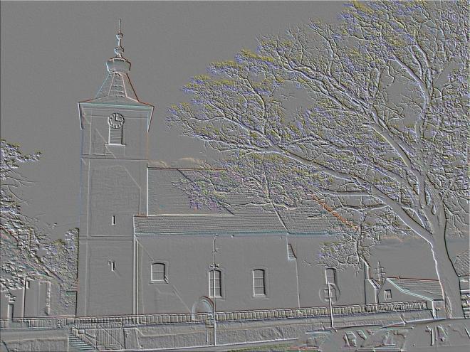 ZAHÁJÍ Plebanie kolem r. 1260. R. 1350 známa pod názvem Mydlovar nebo Wawřinčic nebo S. Maria de Zahradie tzn. za hradem. V 15. - 17. stol. farnost připojena k Purkarci. Matriky od r. 1650. Kostel původně raně gotický z konce 13. stol, v 2. pol. 15. stol. přistavěna na severní straně druhá loď s polyg. presbytářem.