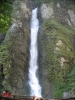 vodopád v soutěsce Liechtensteinklamm