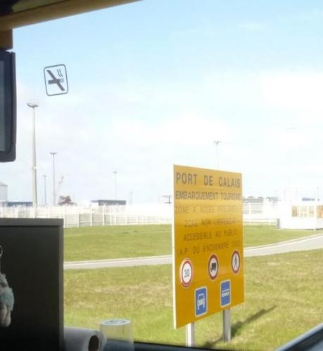 Francouzský přístav Calais
