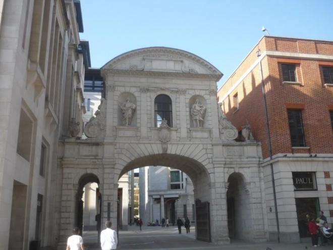 Vstup do staré části Londýna