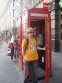 Telefonní budka a já :-)