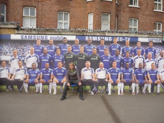 Tým v Chelsea