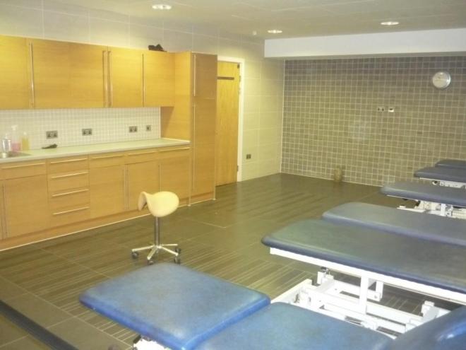 Masážní místnost
