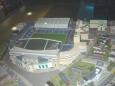 Maketa fotbalového stadionu