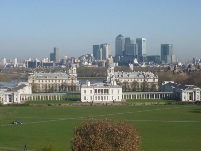 Areál v Greenwichi
