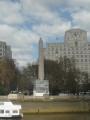 Egyptský obelisk v Londýně