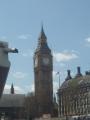Big Ben přesně o dvanácté