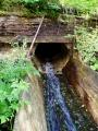 Ústí Tetovského kanálu do Křemelné
