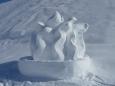 V Klausbergu měli krásné sochy ze sněhu k olympiádě. Schválně, jestli poznáte, co představuje tato?