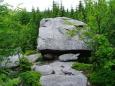 Nejvyšším bodem Medvědí stezky je vrchol hory Perník se svými 1 049 metry.