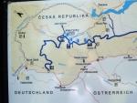 Foto části Schwarzenberského kanálu.