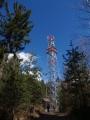 Kbíl, rozhledna ve výši 664m, je prakticky ve stejné výšce jako Hoslovická, ale rozhledy jsou z ní víc otevřené.