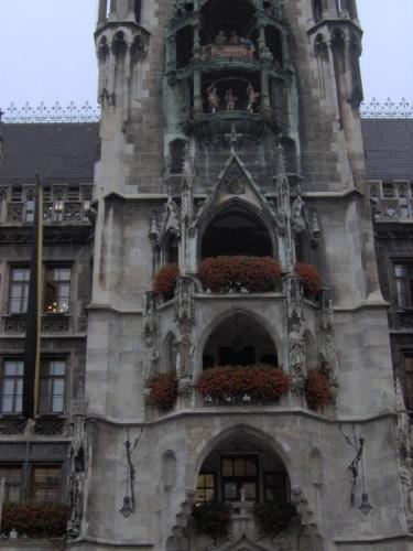 Architektura radnice zblízka