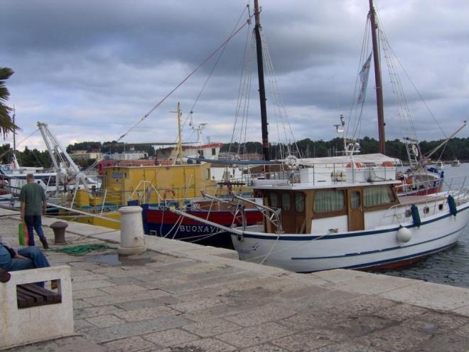 První pohled na středomořské loďky vždy nadchne oko obyvatele vnitrozemského státu.