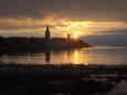 Západ slunce nad Porečí