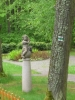 Andělíček v zahradě