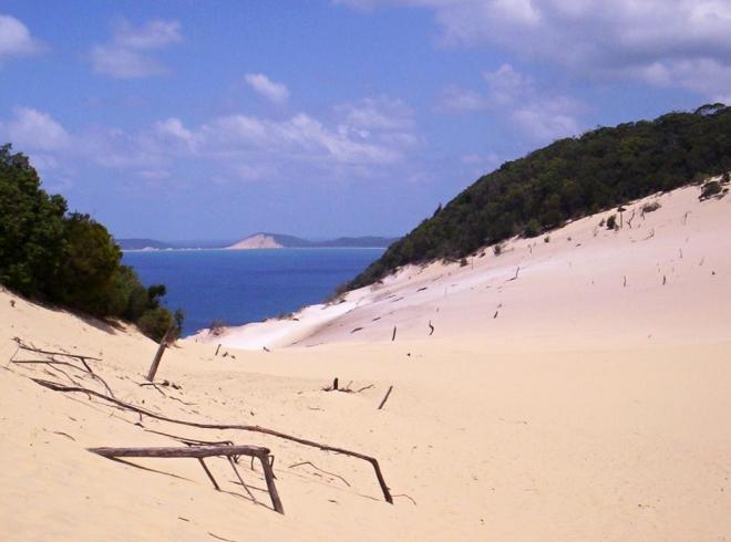 Austrálie-pisečná duna