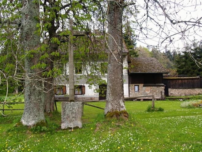 První zmínka o bývalé osadě pochází z roku 1654. V roce 1910 zde stálo 30 domů, v nichž žilo 146 obyvatel (všichni německé národnosti). Byla zde škola a hostinec. Jako škola se nám jevil právě tento velký dům, jeden ze tří posledních zachovalých.