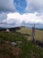 Přes malé sedýlko je v dohledu o dva metry vyšší vrchol Lysé (1 228m) s vrcholovými skalami podobnými těm na Knížecím stolci.