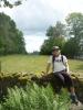 Já a v pozadí hlídač cest - Kašperk