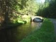 Mostík přes kanál