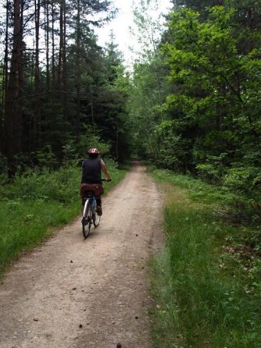 Okruh je uzavřen, to hlavní pro nás bylo projet si novou cyklotrasu Hluboká-Purkarec a zjistit kudy vede. Myslím, že bude hojně využívána a je dobře, že se ji nakonec podařilo prosadit.