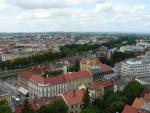 Pohled na Hradec z Bílé věže.