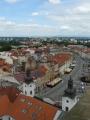 Hradecké náměstí shora