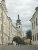 Pohled na kostelovou věž