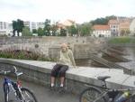 Moje maličkost s píseckým mostem