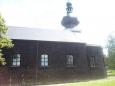 Dřevěný kostel na Srní