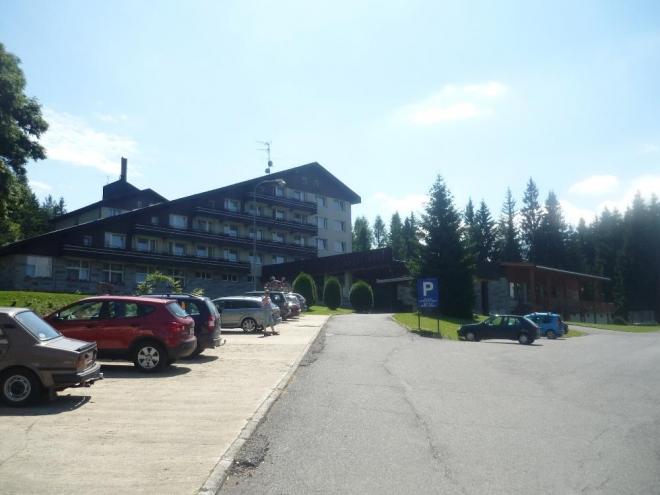 Nejznámější hotel na Srní