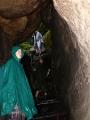 Sestup od lovecké chaty Sv. Eustacha