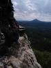 Pohled z Pravčické brány k Růžovskému vrchu