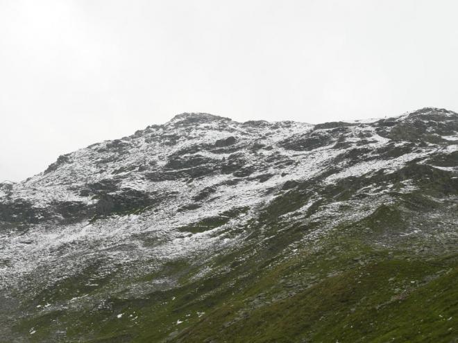 V duchu jsem doufal, že sněhem nepůjdeme, ale cesta nakonec nebyla obtížná a expozice skoro žádná.